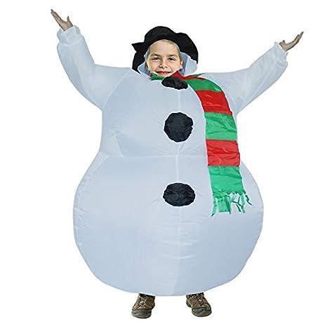 JOMA E-Shop - Disfraz de muñeco de Nieve Hinchable e ...