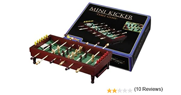 Philos 3230 - Futbolín en Miniatura: Philos 3230 - Mini Kicker - Table Game, Geschicklichkeitsspiel: Amazon.es: Juguetes y juegos