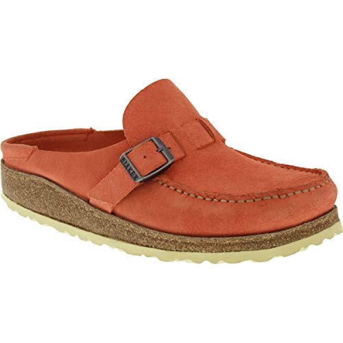 Birkenstock Buckley Narrow Shoe - Women's Coral Suede, 42.0
