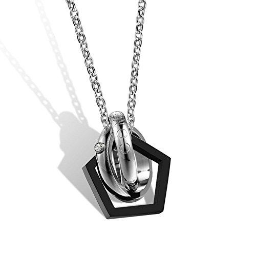 Titanium Chicago Cubs Necklace - 8