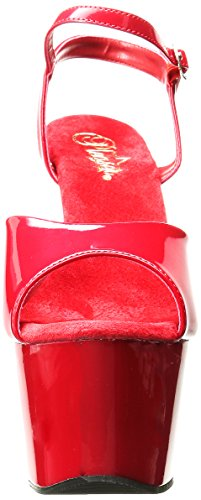 Rosso Donna Red Red 709 Sandali Adore Pleaser nqRz11