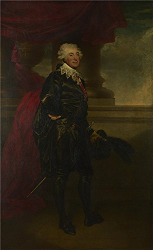 'Sir Martin Archer Shee Mr Lewis As The Marquis In 'The Midnight Hour' ' Oil Painting, 12 X 20 Inch / 30 X 50 Cm ,printed On Polyster Canvas ,this Vivid Art Decorative Prints On Canvas Is Perfectly Suitalbe For Home Theater Decoration And Home Artwork And Gifts