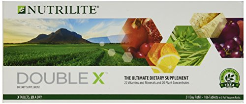 Nutrilite Double X (31-Day REFILL) Is a Phytonutrient Blend of Plant Concentrates From Fruits, Vegetables and Herbs