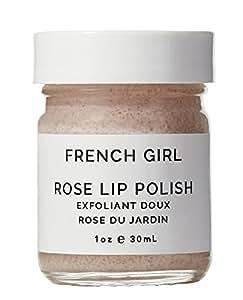 French Girl Organics - Organic / Vegan Rose Lip Polish (1 oz / 30 ml)