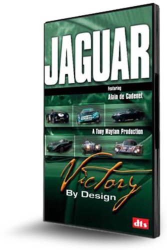 JAGUAR DVD: Victory by Design. Historic, race-winning cars driven hard. Unique footage of rare cars, hidden in private collections; until now.