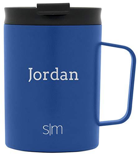 Simple Modern Personalized Gift Tumbler Custom, Mug 12oz - Black Lid, Twilight