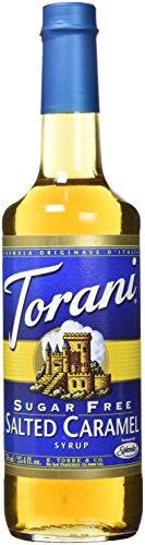 Torani Sugar Free Salted Caramel Syrup, 25.4 oz (Sweetener Sugar Torani Free)