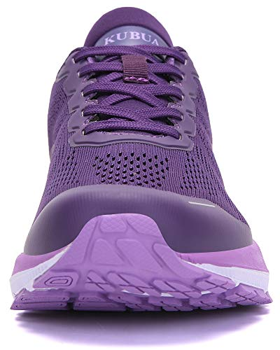 KUBUA Womens Road Running Shoes Arch Supportive Breathable Sneakers
