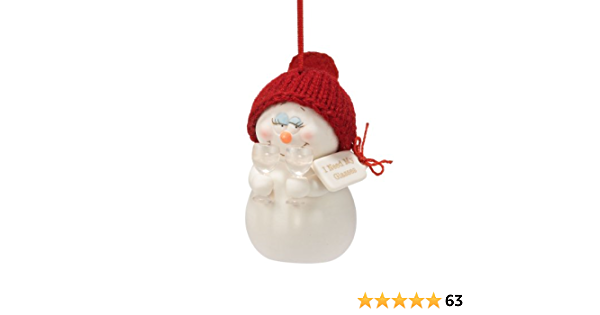 Department 56 Snowbabies Classics 4058397 Where are My Glasses Hanging Ornament