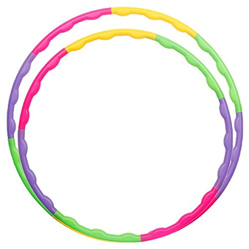Hula Hoop for Kids Detachable Exercise Small Hula Hoop for Sports & Playing 25.6""