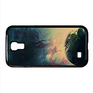 Planet Watercolor style Cover Samsung Galaxy S4 I9500 Case