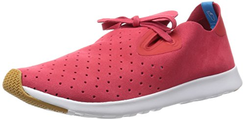 Unisex Fashion White Shell Torch Sneaker Moc Native Red Apollo TdxgHqa44