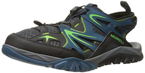 Merrell Mens Capra Rapid Sieve Water Shoe Bright Blue