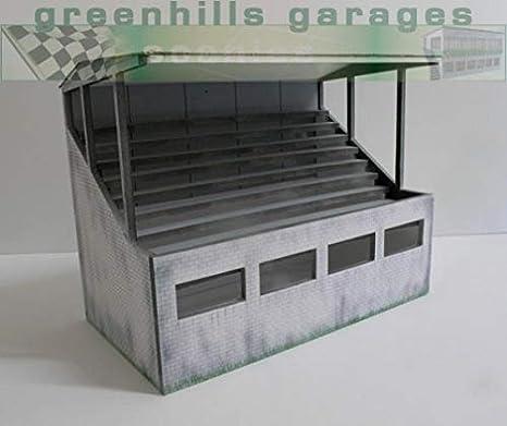 Greenhills Scalextric Slot Car Building Reims Press Box Kit 1:32 Scale Bran...