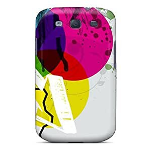 Colorful Shapes Case Compatible With Galaxy S3/ Hot Protection Case