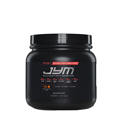 Post JYM Active Matrix - Post-Workout with BCAA's, Glutamine, Creatine HCL, Beta-Alanine, and More | JYM Supplement Science | Mandarin Orange Flavor, 30 Servings