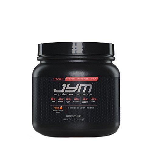 Post JYM Active Matrix - Post-Workout with BCAA's, Glutamine, Creatine HCL, Beta-Alanine, and More | JYM Supplement Science | Mandarin Orange Flavor, 30 Servings (Best Pre And Post Workout Supplements For Men)