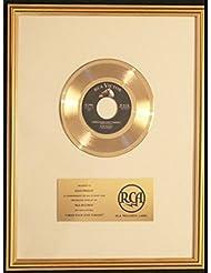 Elvis Presley I Need You Love Tonight 45 Gold Record Award RCA Records