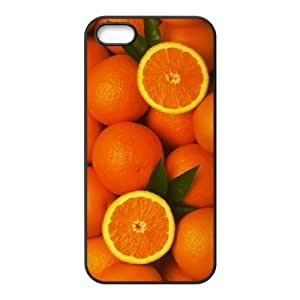 Customized case Of Orange Hard Case for iPhone 5,5S