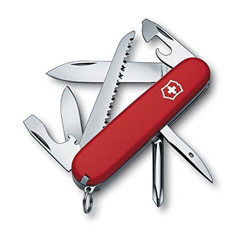 Victorinox Offiziermesser Hiker 13 Funktionen, rot/silber, 1.4613-033