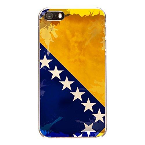 """Disagu Design Case Coque pour Apple iPhone 5s Housse etui coque pochette """"Bosnien-Herzegowina"""""""