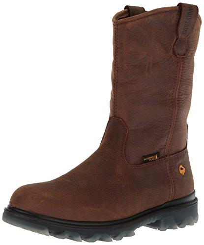 I Wellington Waterproof Toe Brown 90 Men's Wolverine Soft Construction Sudan Boot fnw51gUqxY