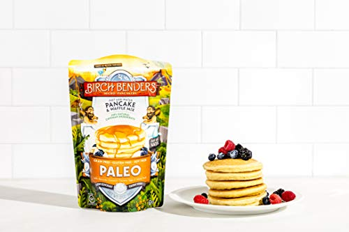 Paleo Pancake & Waffle Mix by Birch Benders, Low-Carb, High Protein, High Fiber, Gluten-free, Low Glycemic, Prebiotic, Keto-Friendly, Made with Cassava, Coconut & Almond Flour, Just Add Water, 12 oz 4