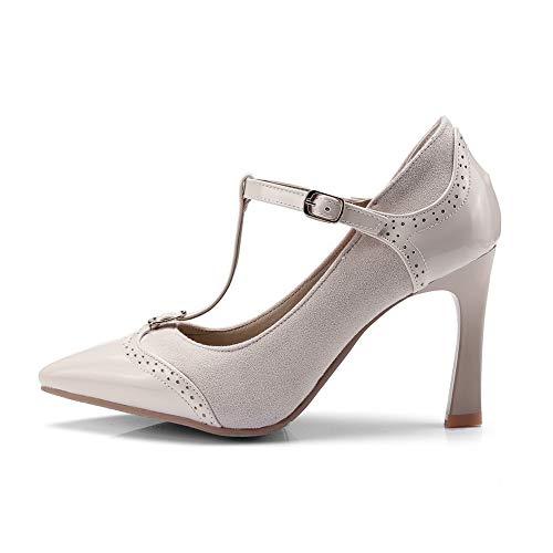 Femme Jaune Abricot APL10636 36 Sandales 5 EU Compensées BalaMasa qRvCntBx
