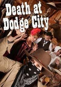 rouge Herbague Games Mort à Dodge City - Murder Mystery Jeu pour 8 Joueurs