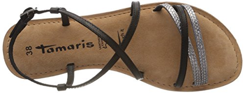Sling 28114 Sandals WoMen Tamaris Back 001 Black Black w4vfE