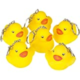"Rhode Island Novelty 2"" Rubber Duck Keychain (12 Piece)"