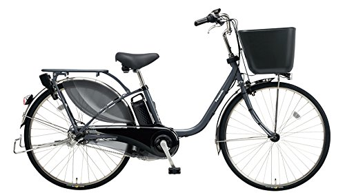 Panasonic(パナソニック) 2018年モデル ビビKD 26インチ BE-ELKD63 電動アシスト自転車 専用充電器付 B078K3XBP5 N:メタリックグレー N:メタリックグレー