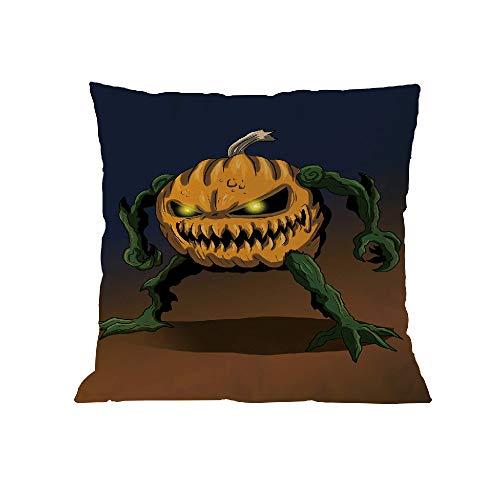 WFeieig_Halloween Fall Pillow Covers Pumpkin Farm Fresh Give Thanks Autumn Theme Farmhouse Decorative Throw Pillow Covers]()