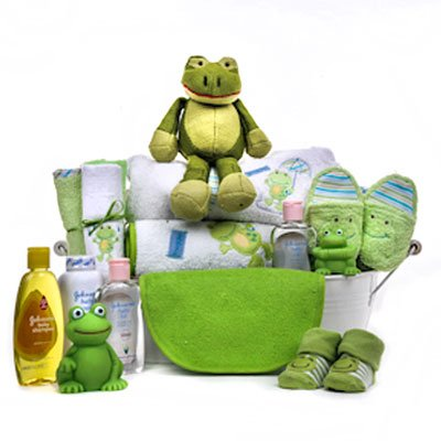 Leap Frog Baby Gift Basket