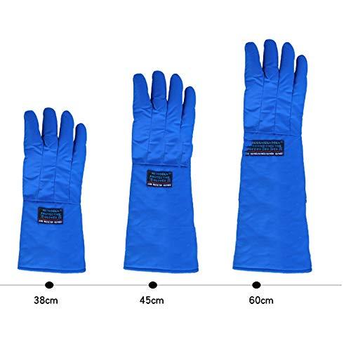 AINIYF Low Temperature Resistant Liquid Nitrogen Gloves Antifreeze Gloves Cold Storage Dry Ice Cold Warm Gloves (Size : 45cm) by AINIYF (Image #2)