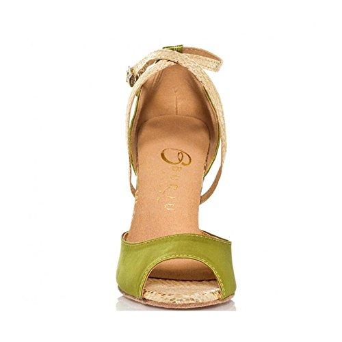 ballo scintillanti partito performance 36 glitter svasato da donna latino da glitter tacco scintillanti Un UN Scarpe tacco scarpe sandali 34 Colore v8SPZR4qW