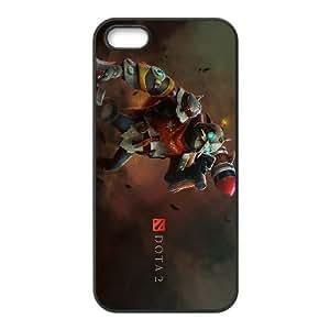 Dota2 CLOCKWERK iPhone 5 5s Cell Phone Case Black 82You529119