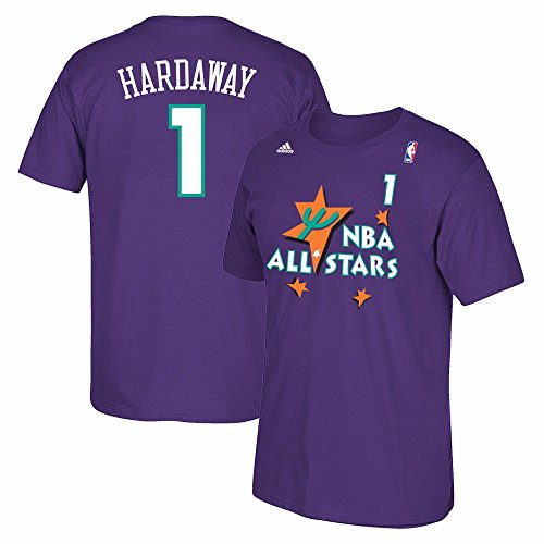 Orlando Magic Anfernee Penny Hardaway All Star 1995 Purple T Shirt 1995 (Large) (1 Orlando Magic Authentic Jersey)