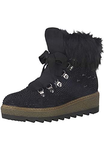 Women's Touch Boot 26722 Black it 001 Tamaris Warmlining 1 Sole 21 Ankle zxwqSngIO6