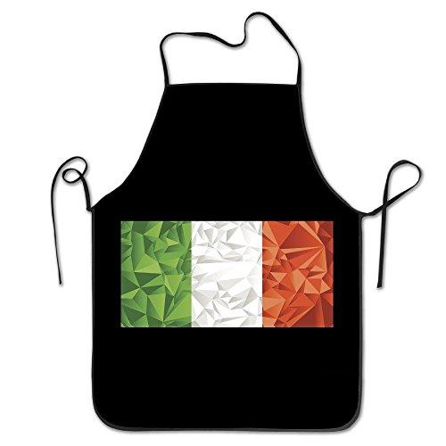 - IRELAND Tricolor Flag Soft And Warm Craftsmen Kitchen Restaurant Bib Apron