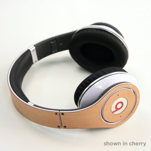 Lazerwood Holz Cover für Beats Studio Headset cherry