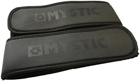 //16 Mystic Velcro Legstrap Set Black