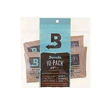 Boveda Humidipak 8 Gram (Medium) 10 Pack 2-way Humidity Control 69% RH