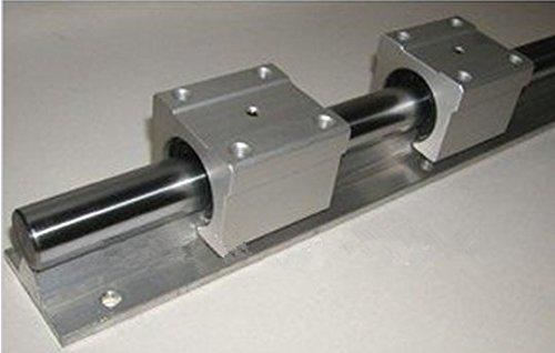 GOWE linear bearing slide unit SBR20-1500mm 2 rails support+8 SBR20UU blocks +2 SFU1605-1500mm +2 psc nut +2 set BKBF12CNC