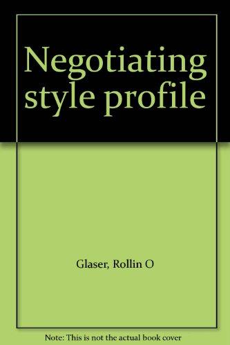 negotiation style profile - 3