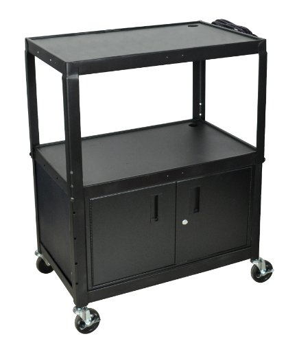 Large Mobile Computer Cart - 3