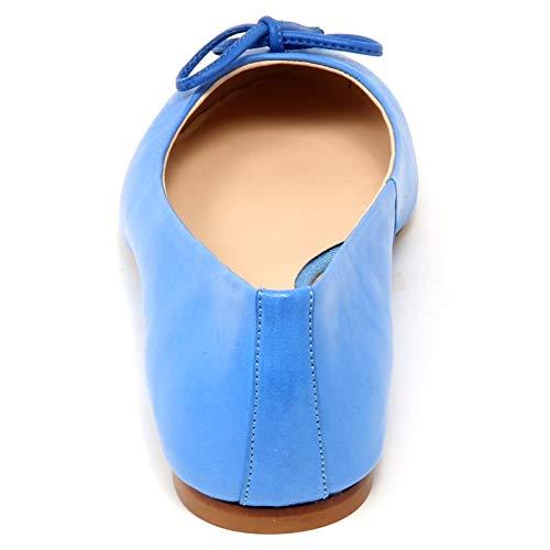 Light Azur Woman F4168 Effect Donna Vintage Shoe Blue Baiguera Ballerina Anna Scarpe qIxw4HAH