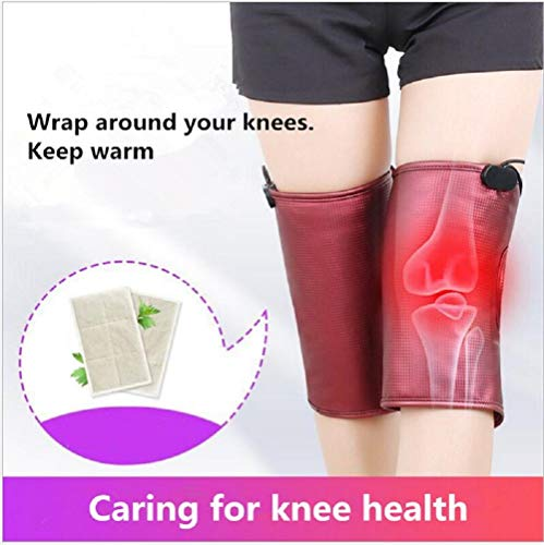 Infrared Knee Massager Vibration Electric heating kneepad Warm Knee Pads...