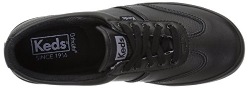 Keds Women Craze Ii Leather Sneaker Fashion Nero / Nero