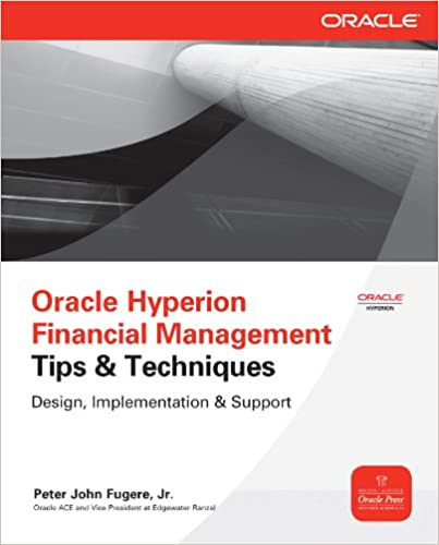 Oracle Hyperion Financial Management Tips And